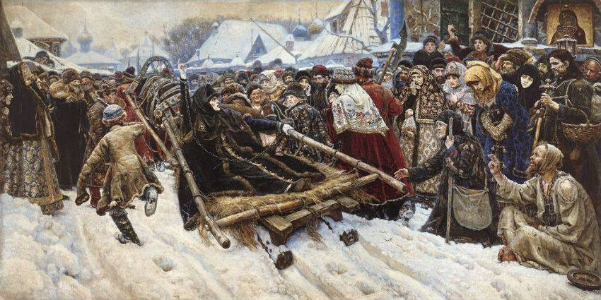 5 Unusual Codes of Behavior in old Russia