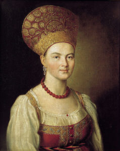 5 Kinds of Folk Hats Russian Women Wore
