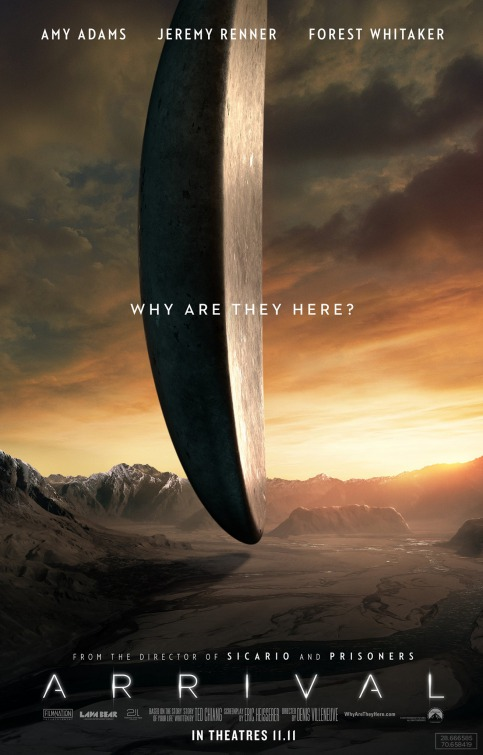 Arrival: the Best Movie of the Year So Far