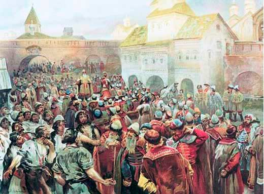 How a Russian Historian Imagined Democracy to Look in 14th century Russia