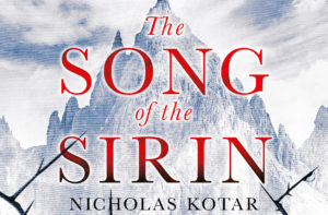 Cover Reveal: The Song of the Sirin