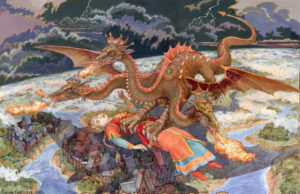 Theophany Eve: Beware the Fiery Dragon!