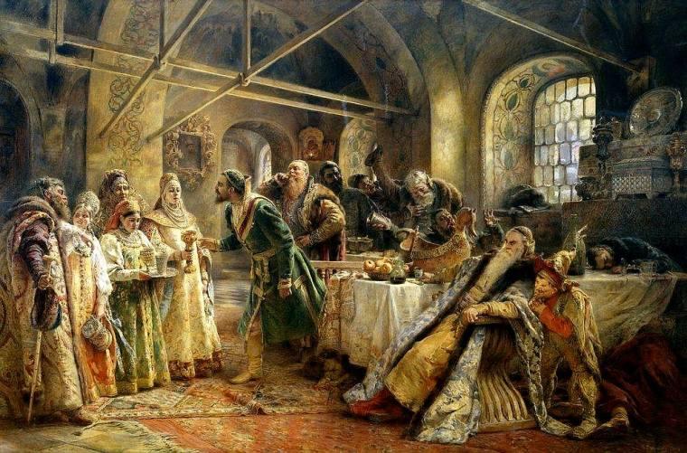 5 Unusual Codes of Behavior in old Russia