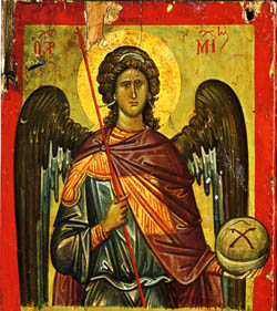 How Iconographers Paint Angels